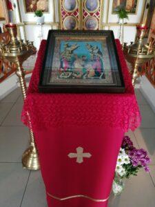 Неделя 6 по Пасхе о слепом — праздничная икона в храме Николая Чудотворца