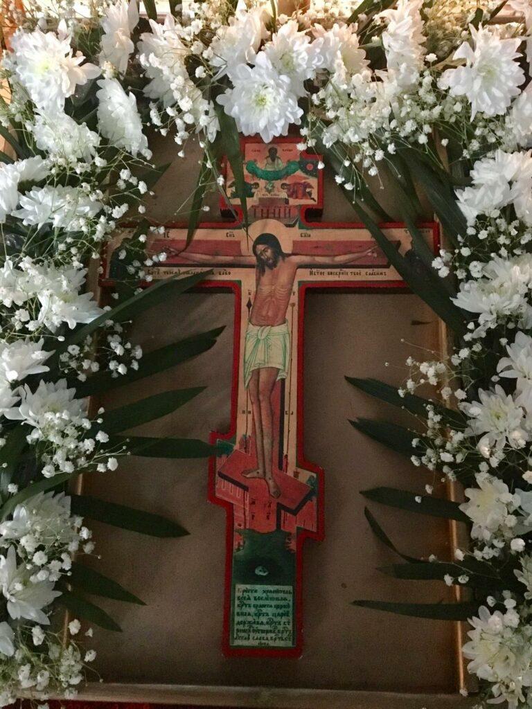 Поклонение Кресту в четвёртую неделю Великого Поста, Тюльган