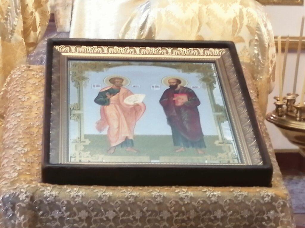 Праздник Петра и Павла — праздничная икона в храме Николая Чудотворца