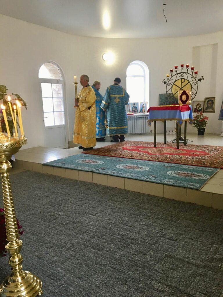 престольный праздник в Разномойке 4 ноября 2018 года
