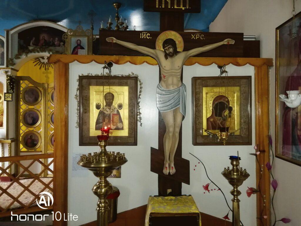 Икона Николая Чудоторца и Табынской Божией Матери в храме Николая Чудотворца