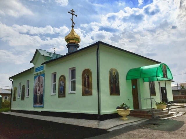 Храм святителя Николая Чудотворца, п. Тюльган