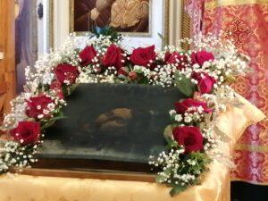 Усекновение главы Иоанна Крестителя праздничная икона