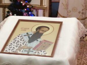 Праздничная икона святителя Василия Великого в Тюльгане
