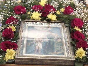 Праздничная икона в Тюльгане на Крещение Господне