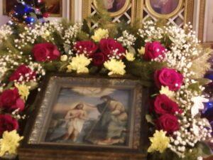 Праздничная икона Крещение Господне в Тюльгане