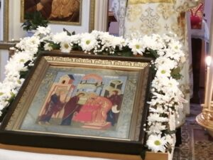 Праздник Сретенье Господне в Тюльгане праздничная икона