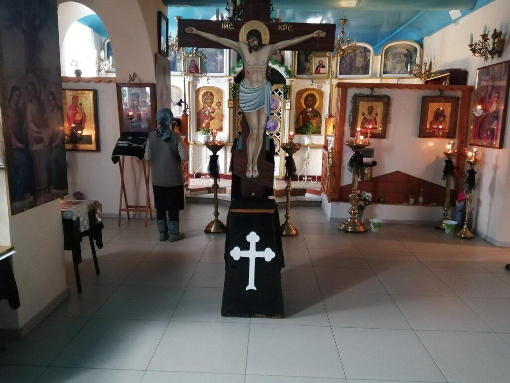 Пассия служба в храме Николая Чудотворца, Тюльган