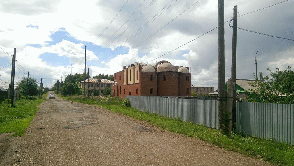 Строительство нового храма в Тюльгане