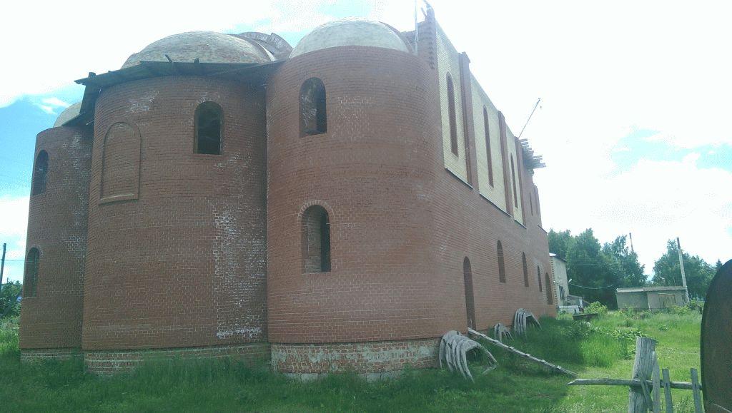 Строительство нового храма в Тюльгане в честь Табынской иконы Божьей Матери