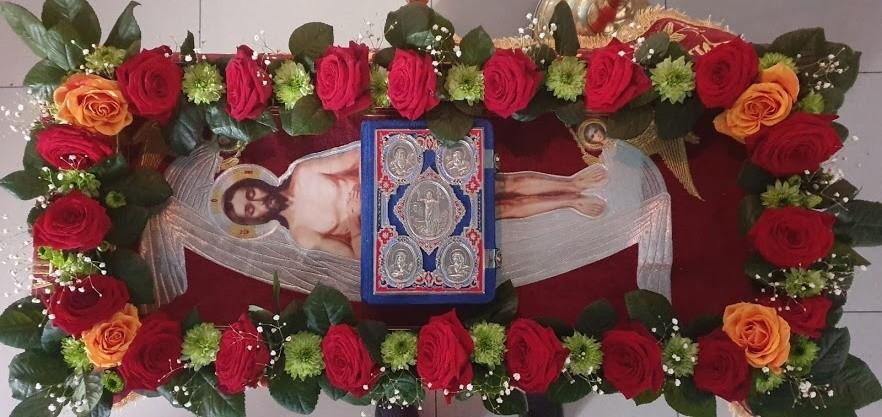 Вынос плащаниы, храм Николая Чудотворца, Тюльган