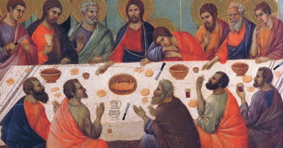 Великий Четверг Страстной седмицы Тайная вечеря