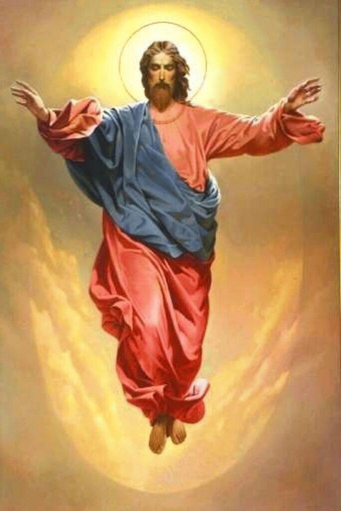 Христос возносится на Небо