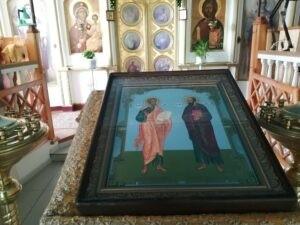 Праздник апостолов Петра и Павла праздничная икона в Тюльгане