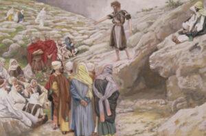 Иоанн Креститель и фарисеи