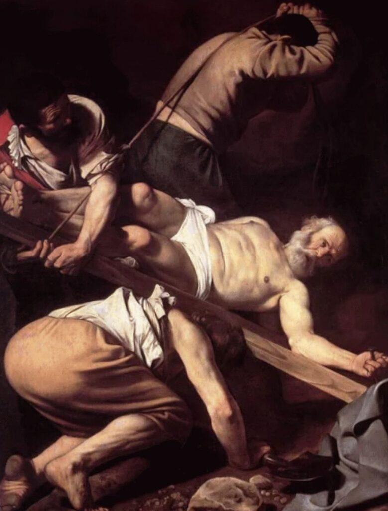 Распятие святого апостола Петра